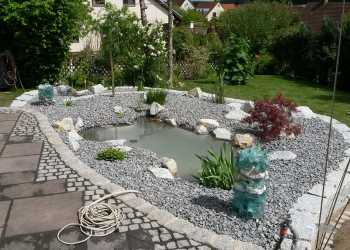 Wasser im Garten 28
