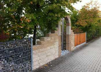 Gartenmauern 72